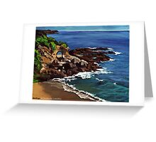 Keyhole Arch En Plein Air Greeting Card