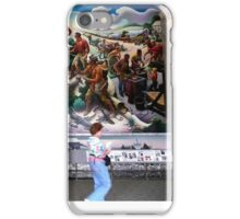 Mural, Temple of the Community of Christ, Independence, Missouri USA iPhone Case/Skin