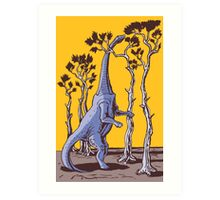Reaching the Tree Tops Art Print