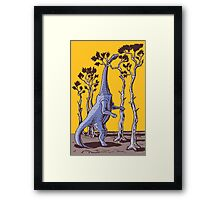 Reaching the Tree Tops Framed Print