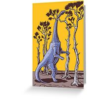 Reaching the Tree Tops Greeting Card