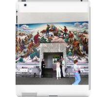 Mural, Temple of the Community of Christ, Independence, Missouri USA iPad Case/Skin