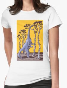 Reaching the Tree Tops Womens Fitted T-Shirt