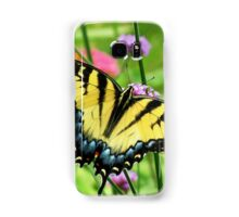 Yellow Tiger Swallowtail  Samsung Galaxy Case/Skin
