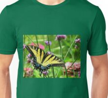 Yellow Tiger Swallowtail  Unisex T-Shirt