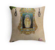Ave María Throw Pillow