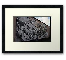 The Ship's Wall Reopens. Framed Print