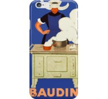 Leonetto Cappiello Affiche Baudin Cappiello iPhone Case/Skin