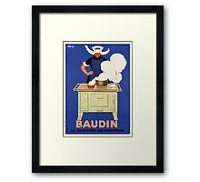 Leonetto Cappiello Affiche Baudin Cappiello Framed Print