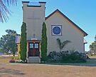Holy Trinity Lutheran Church, Nobby, Qld, Australia by Margaret  Hyde