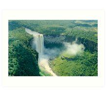 Kaieteur Falls Aerial View Art Print