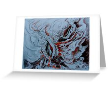 Geothermal Indigestion . . . . Greeting Card