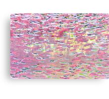Underwater Abstract Gallery - Piece 10 (Pastel) Canvas Print