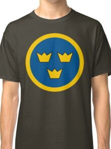 Swedish Air Force Insignia Classic T-Shirt