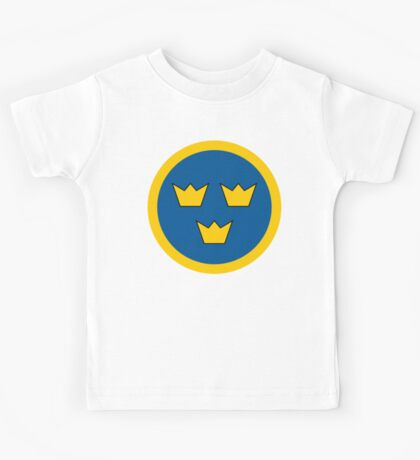 Swedish Air Force Insignia Kids Tee