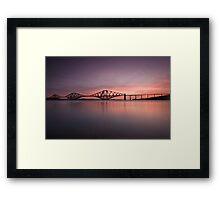 The Forth Rail Bridge Framed Print