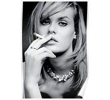 Glamourous smoker Poster