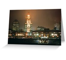 Providence at Night IV Greeting Card