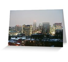 Providence at Night VI Greeting Card