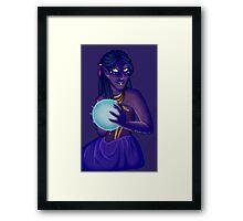 Lady Fortune Framed Print