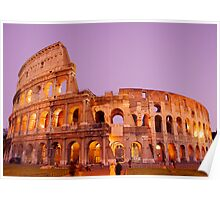colloseo at night Poster