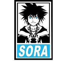 Obey Sora Photographic Print