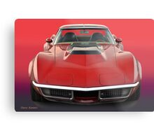 1969 Corvette Stingray VS1 Metal Print