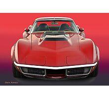 1969 Corvette Stingray VS1 Photographic Print