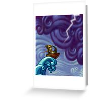 Wild Ride Greeting Card