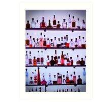 liquor Art Print