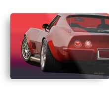 1969 Corvette Stingray VS2 Metal Print