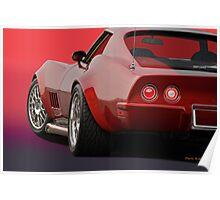 1969 Corvette Stingray VS2 Poster