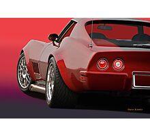 1969 Corvette Stingray VS2 Photographic Print