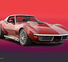 1969 Corvette Stingray VS3 by DaveKoontz