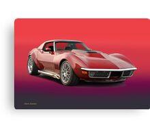 1969 Corvette Stingray VS3 Canvas Print