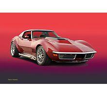 1969 Corvette Stingray VS3 Photographic Print
