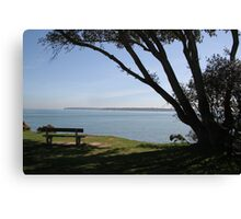Sea View Over The Solent Canvas Print