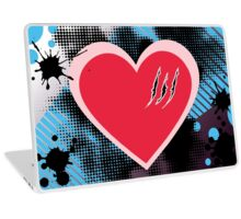 Clawed Heart Laptop Skin