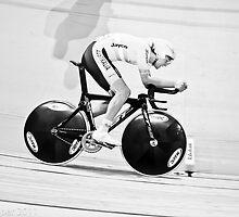 Michael Freiberg 2011 World Track Omnium Champion by Paul  Sloper