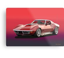 1969 Corvette Stingray Metal Print