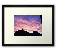 Tranquil Dawn. Framed Print