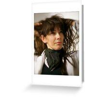 Tengo La Camisa Negra  Evita . by Brown Sugar. Juanes- Tengo La Camisa Negra !!! Ole !!!! Canon 85 mm f/1.2 . Greeting Card