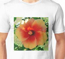 "Hibiscus, ""Redland Sunset"" Unisex T-Shirt"