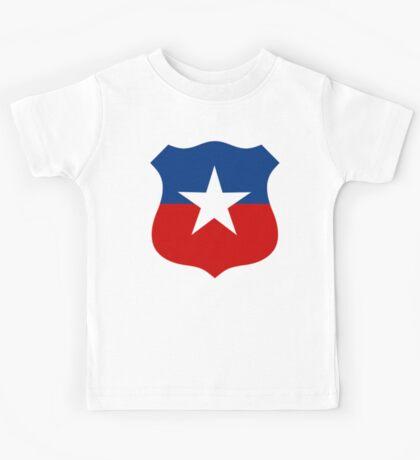 Chilean Air Force Insignia Kids Tee