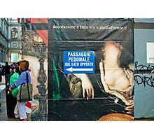Passagio Pedonale Photographic Print