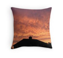 Somerset sunrise. Throw Pillow