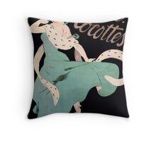 Jules Alexandre Grün Adieu Cocottes Throw Pillow