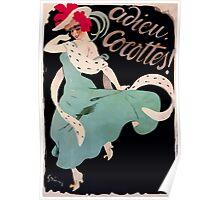 Jules Alexandre Grün Adieu Cocottes Poster