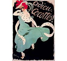 Jules Alexandre Grün Adieu Cocottes Photographic Print