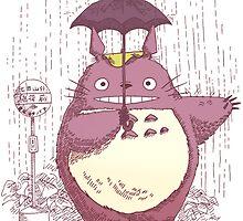 Totoro by ScissorCrazy